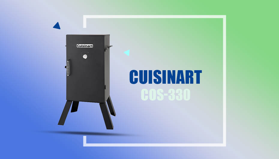 Cuisinart cos 330 cheap electric smoker