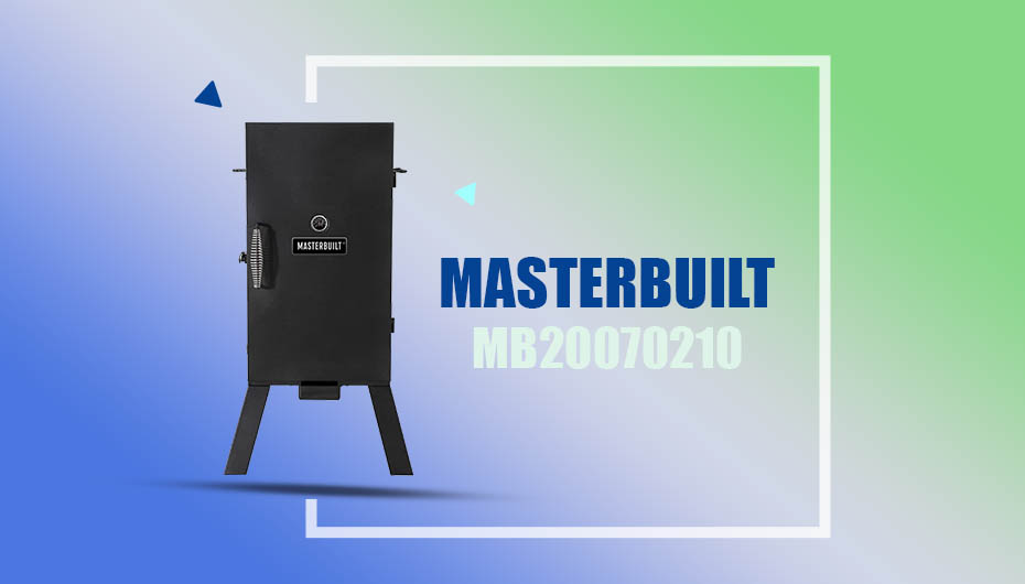 Masterbuilt MB20070210 Corded Electric Smoker