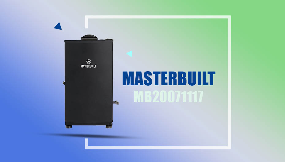 Masterbuilt MB20071117 Electric Smoker