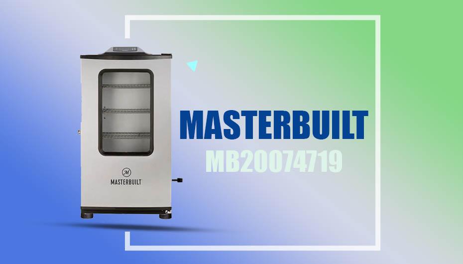 Masterbuilt MB20074719 Electric Smoker