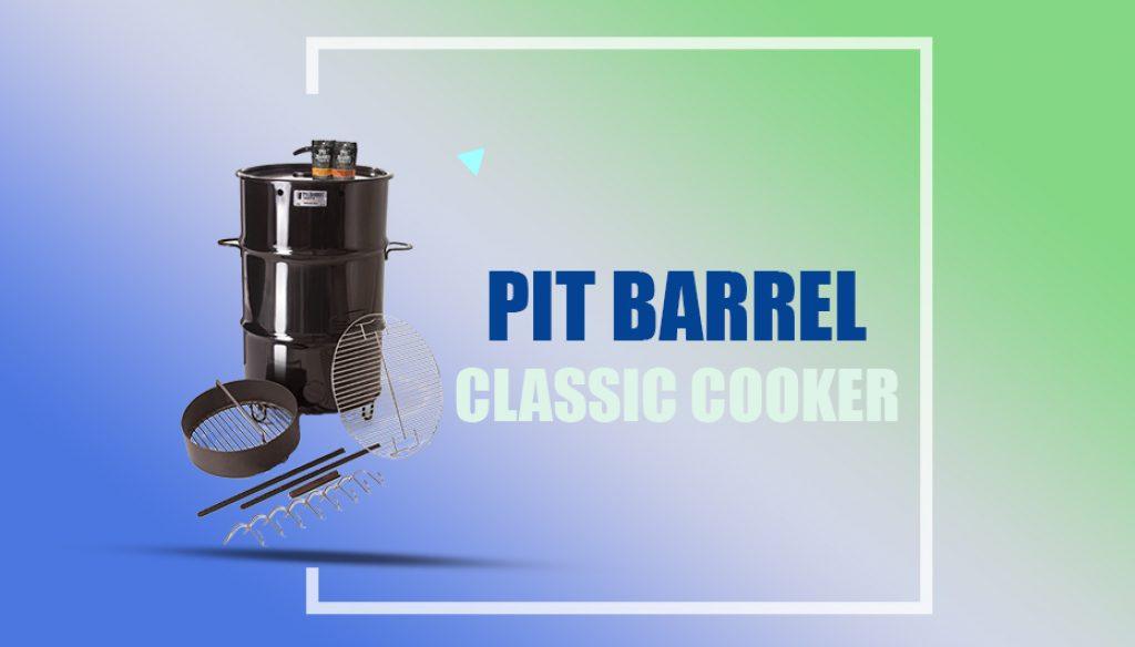 18-1/2 in. Classic Pit Barrel Cooker
