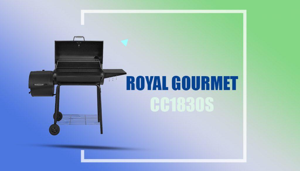 Royal Gourmet CC1830S Offset Smoker