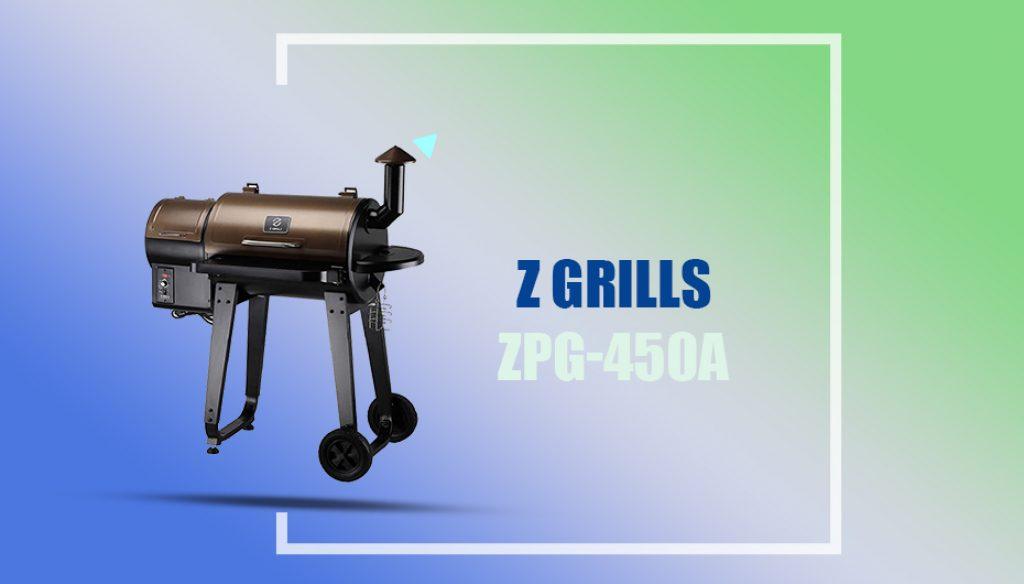 Z GRILLS ZPG-450A Offset Smoker