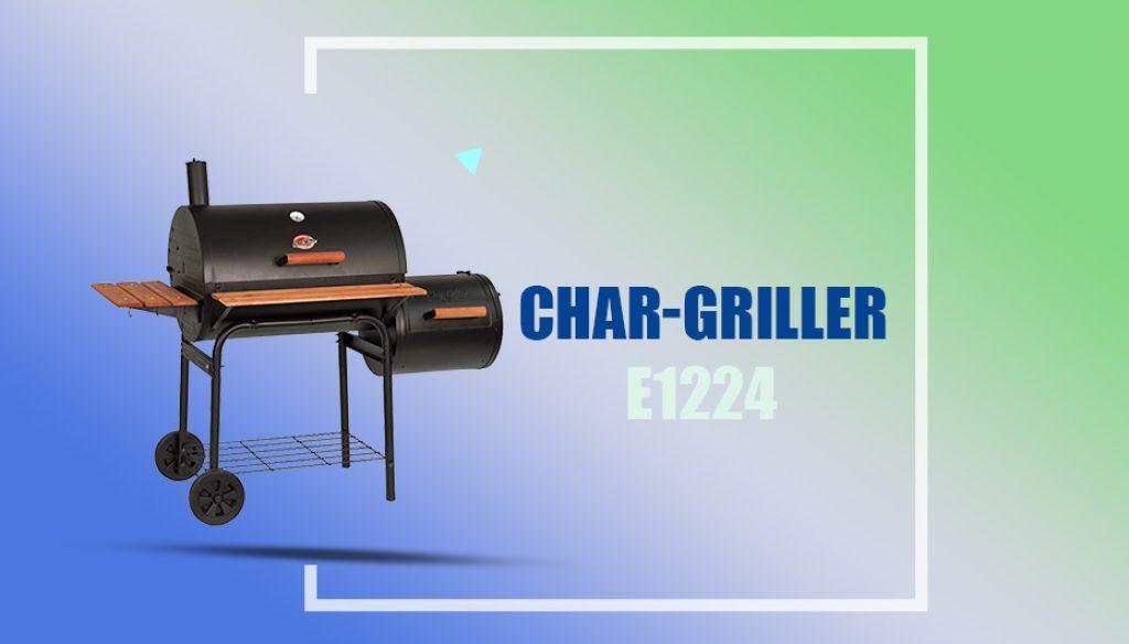 Char-Griller Smokin' Pro BBQ Smoker