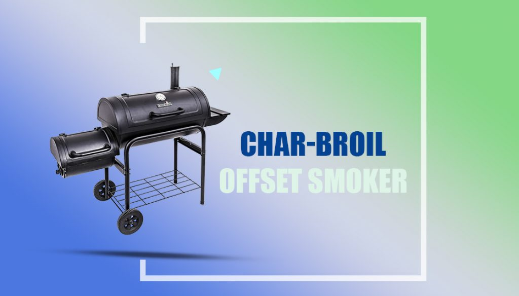 "Char-Broil Offset Smoker, 30"""