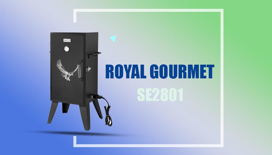 Royal Gourmet SE2801 Electric Smoker Under 200
