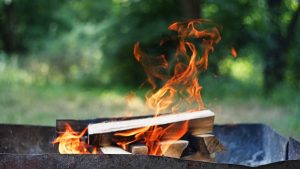 how to keep wood chips from burning in smoker